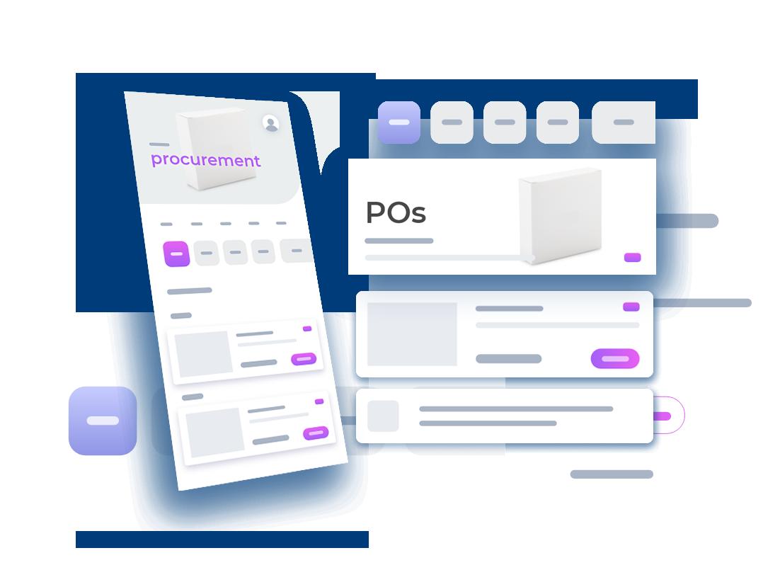 Build flexible procurement apps