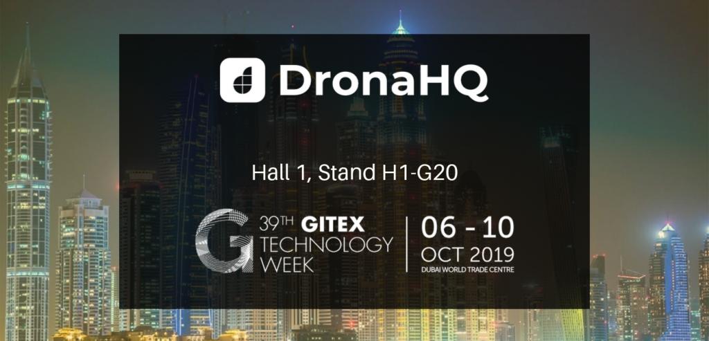 gitex-dronahq-2019-hall 1-stand h1-g20-dwtc