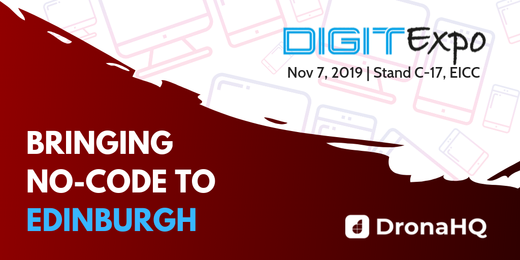 No code platform at DigitExpo UK