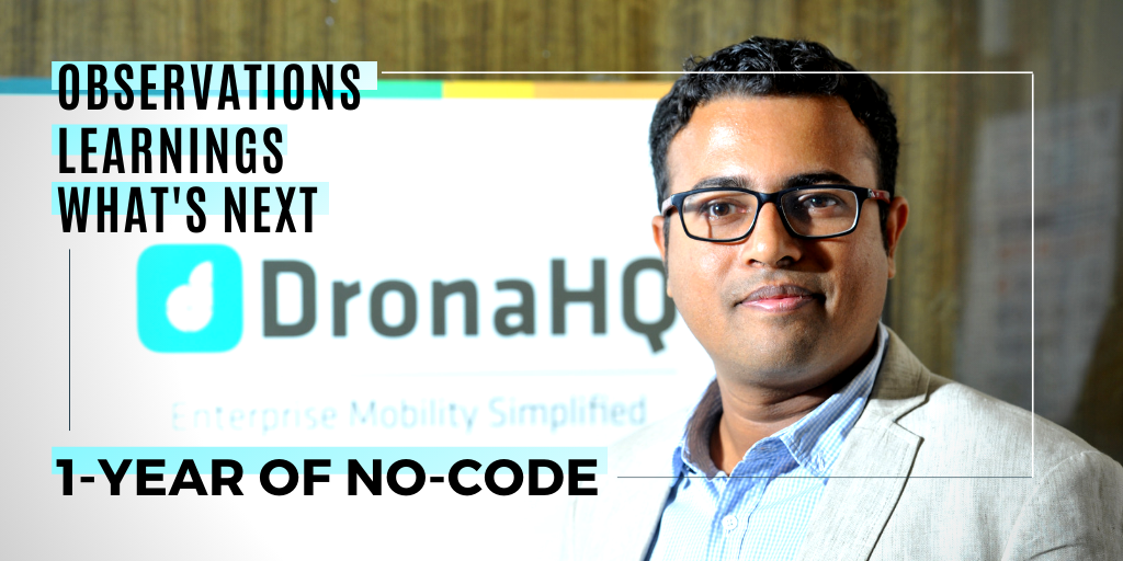 jinen dedhia shares learnings observations and facts from one year of launching a no code platform