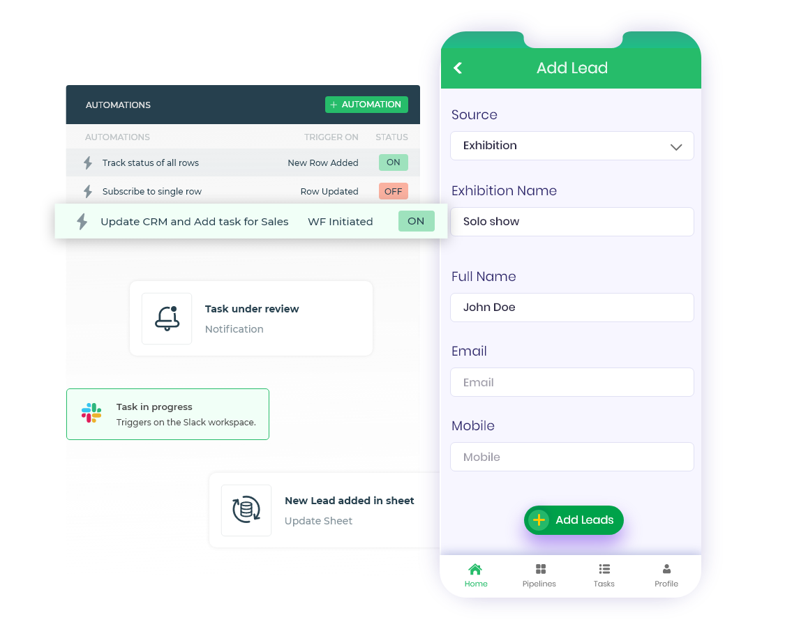 mobile forms automation
