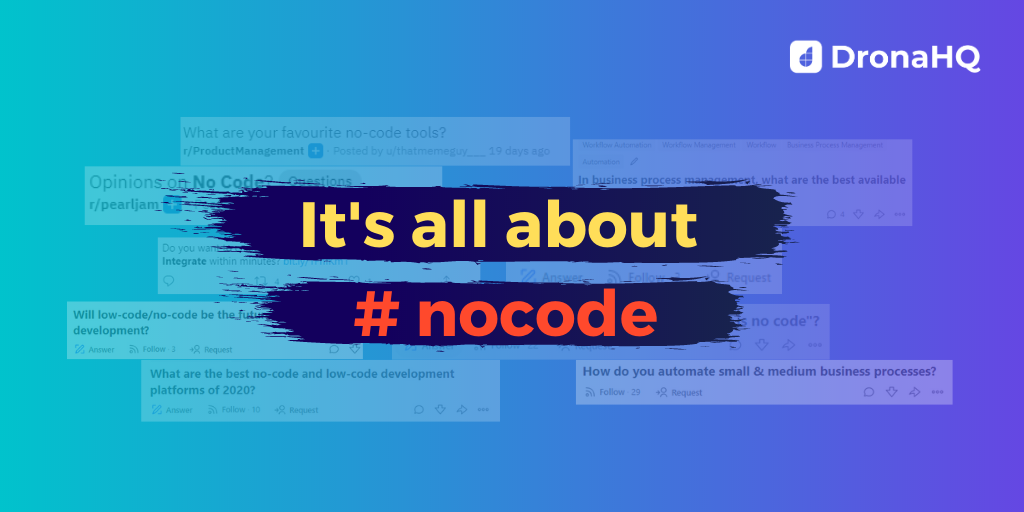 No-Code Answers