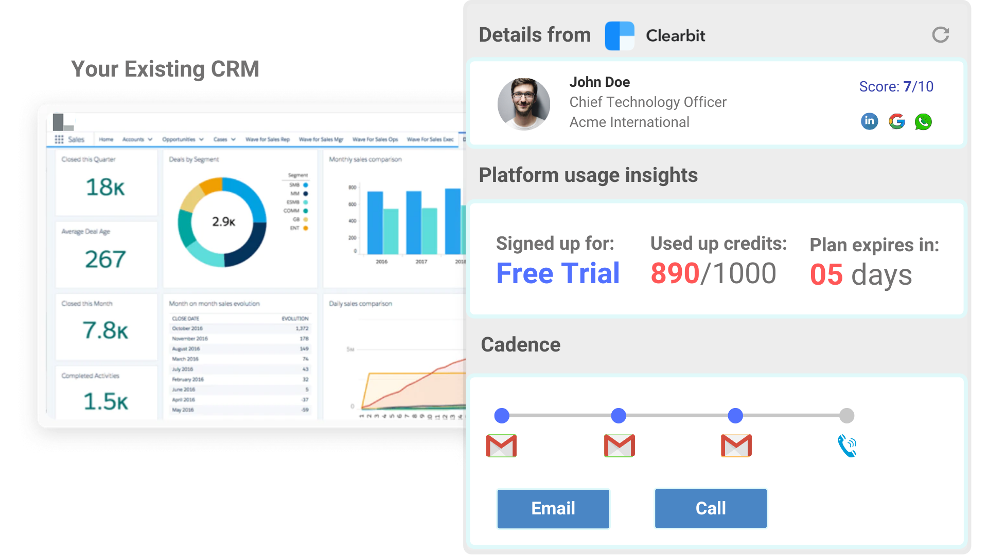 custom crm app