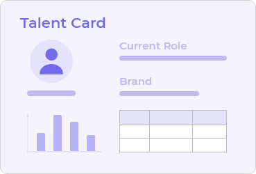 Talent Tracking App on top of Google Sheets