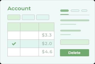 MongoDB Admin Panel for Customer Account Management