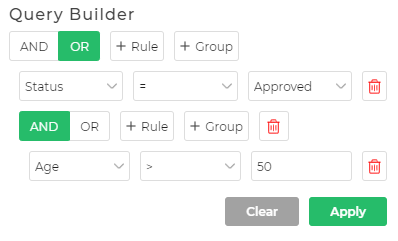 Query Builder UI